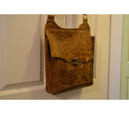 NAMIB SATCHEL - with swing clasp - From £85