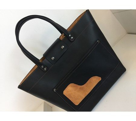 MINI TOTE - Black and Gold - From £90
