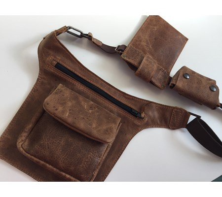 TRADERS POUCH - with phone and key case - From £65